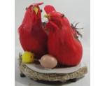 Hens Roosting