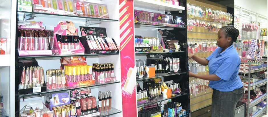 Widest range of cosmetics